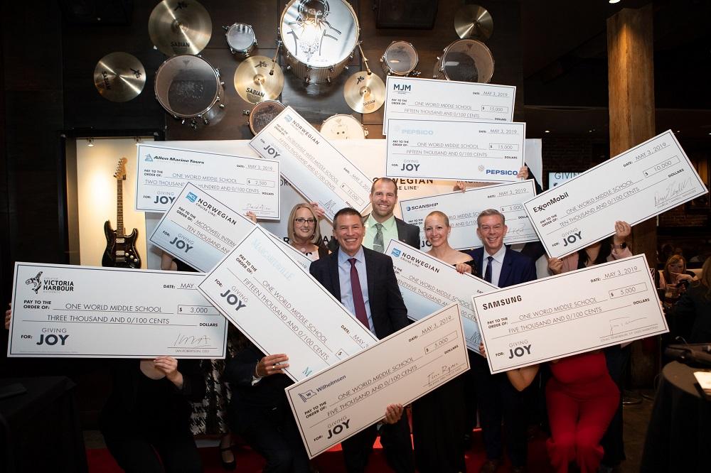 'Giving Joy' winners