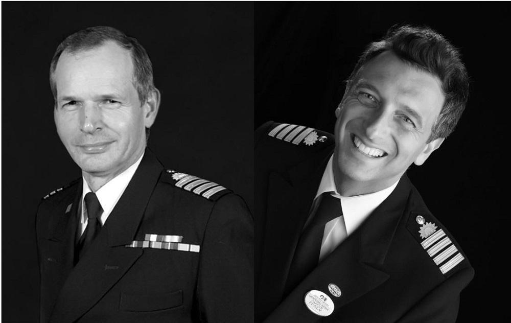 Captain Nick Nash and Captain Gennaro Arma