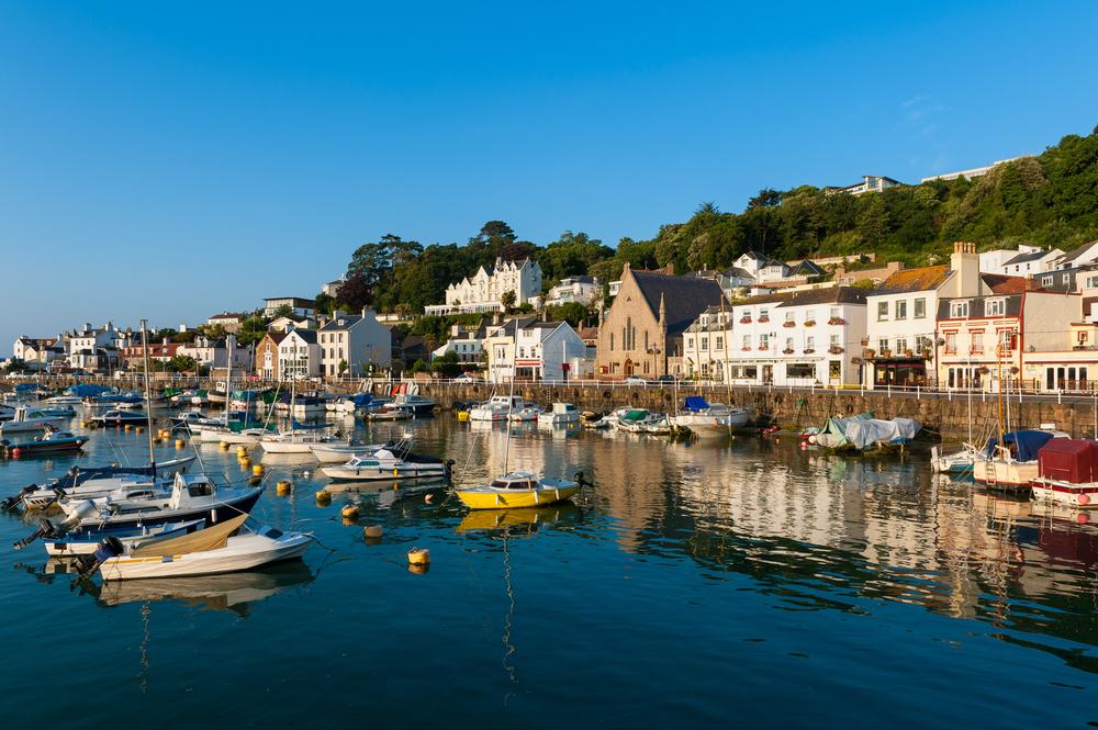 Saint Aubin, Jersey, Channel Islands, UK