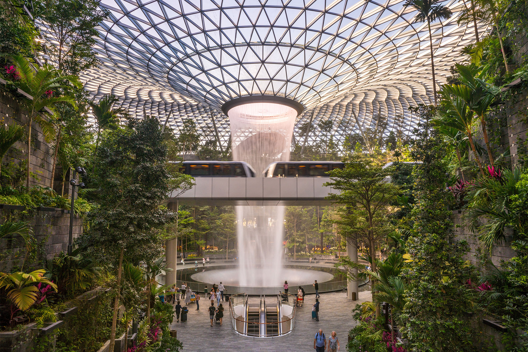 Jewel Changi Airport Unveils Canopy Park And Aviation Themed
