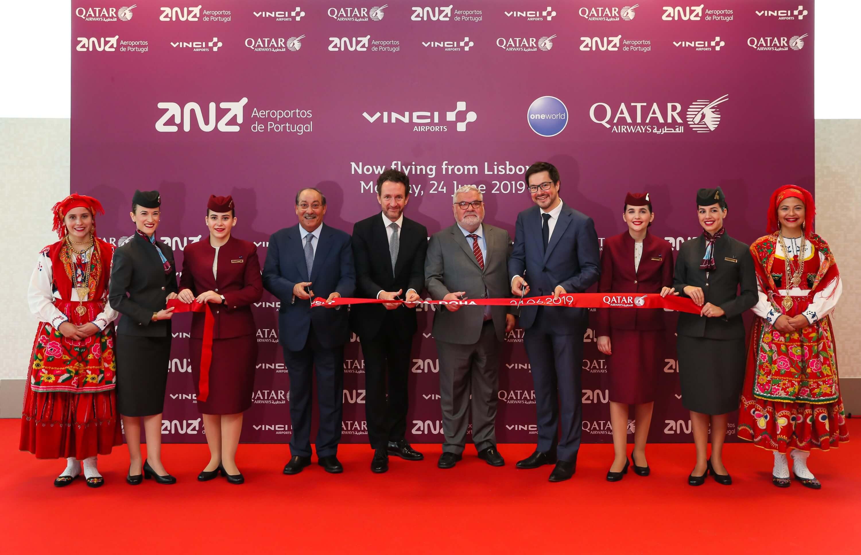 Portuguese connection: Qatar Airways debuts in Lisbon