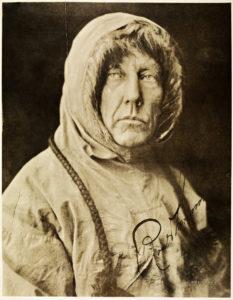 Roald Amundsen. Photo: National Library