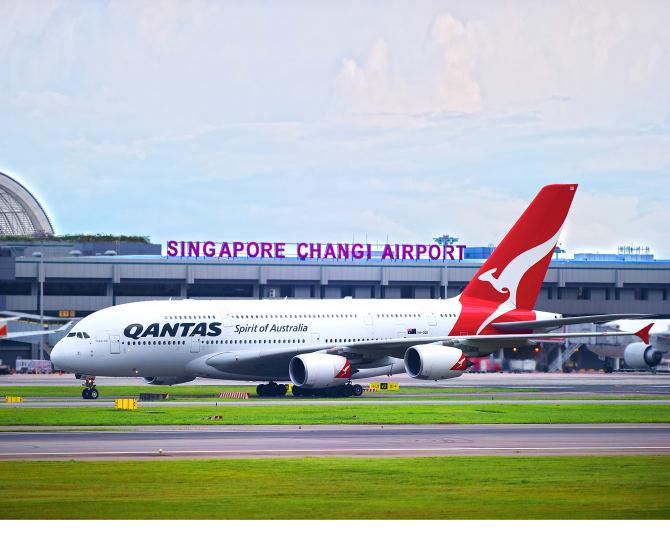 Qantas Changi