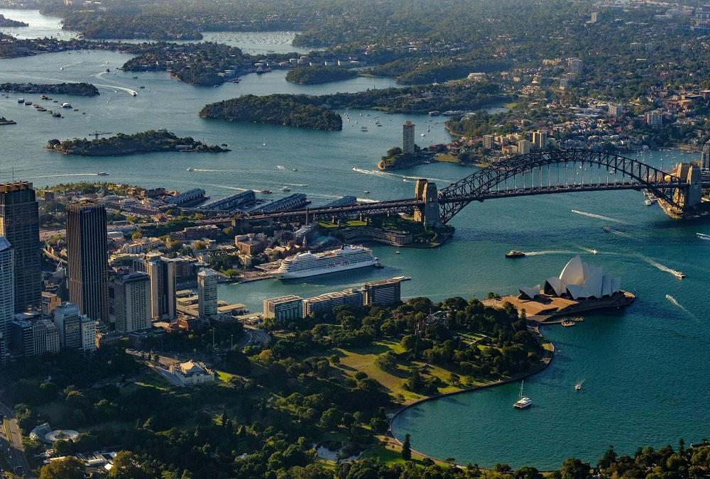 Viking Sun in Sydney, Australia