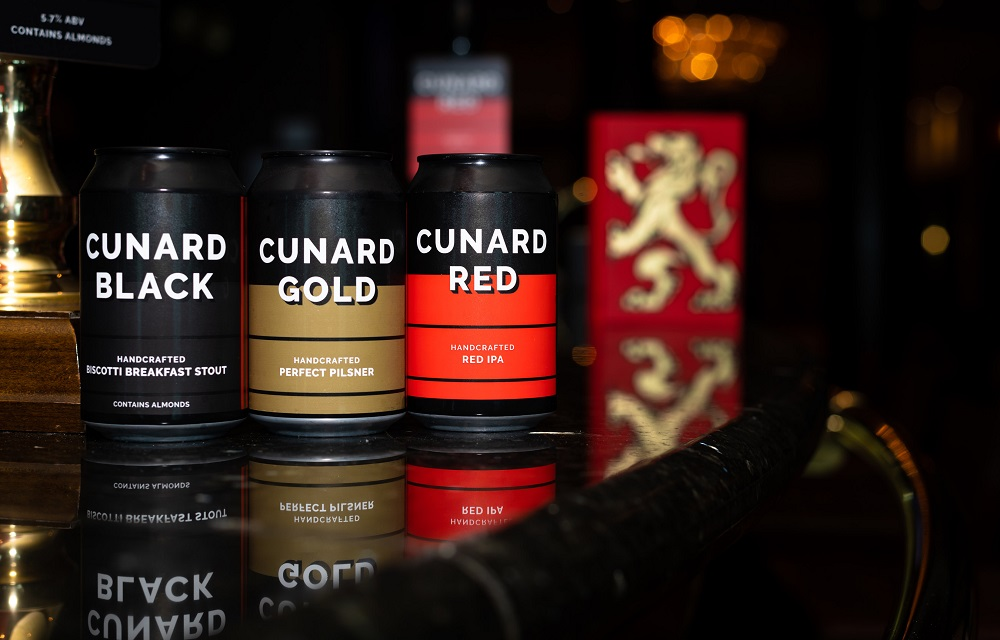 Cunard Craft Beers - cruise news