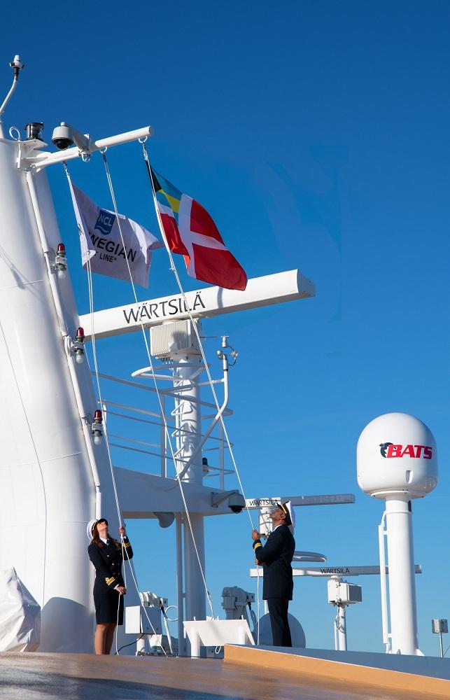 Norwegian Encore joins the Norwegian Cruise Line fleet