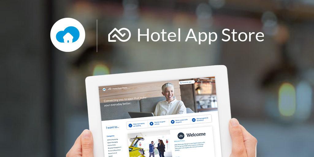 SiteMinder Hotel App Store_social