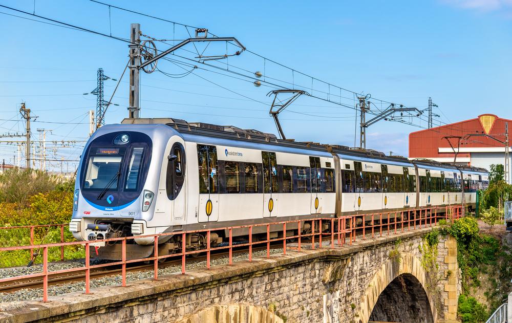 France mass strike - Hendaye train station