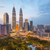 Malaysia, kuala Lumpur Skyline