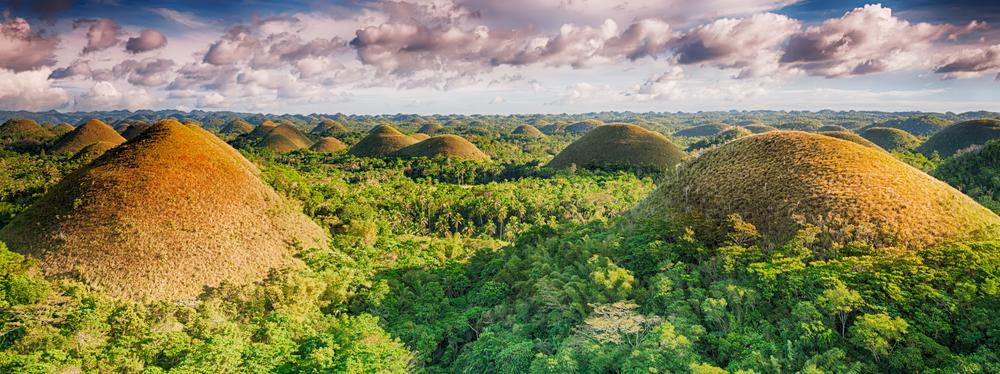 The Chocolate Hills, Bohol, Philippines