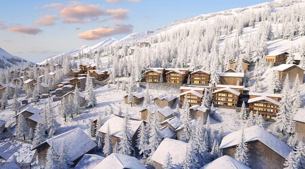 Ritz Carlton will soon rise on the Swiss Alps