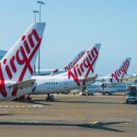 Sydney,-,December,30:,Aircrafts,Of,The,Virgin,Australia,Fleet