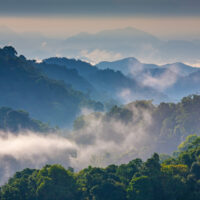 Morning,Mist,At,Tropical,Mountain,Range,this,Place,Is,In,The