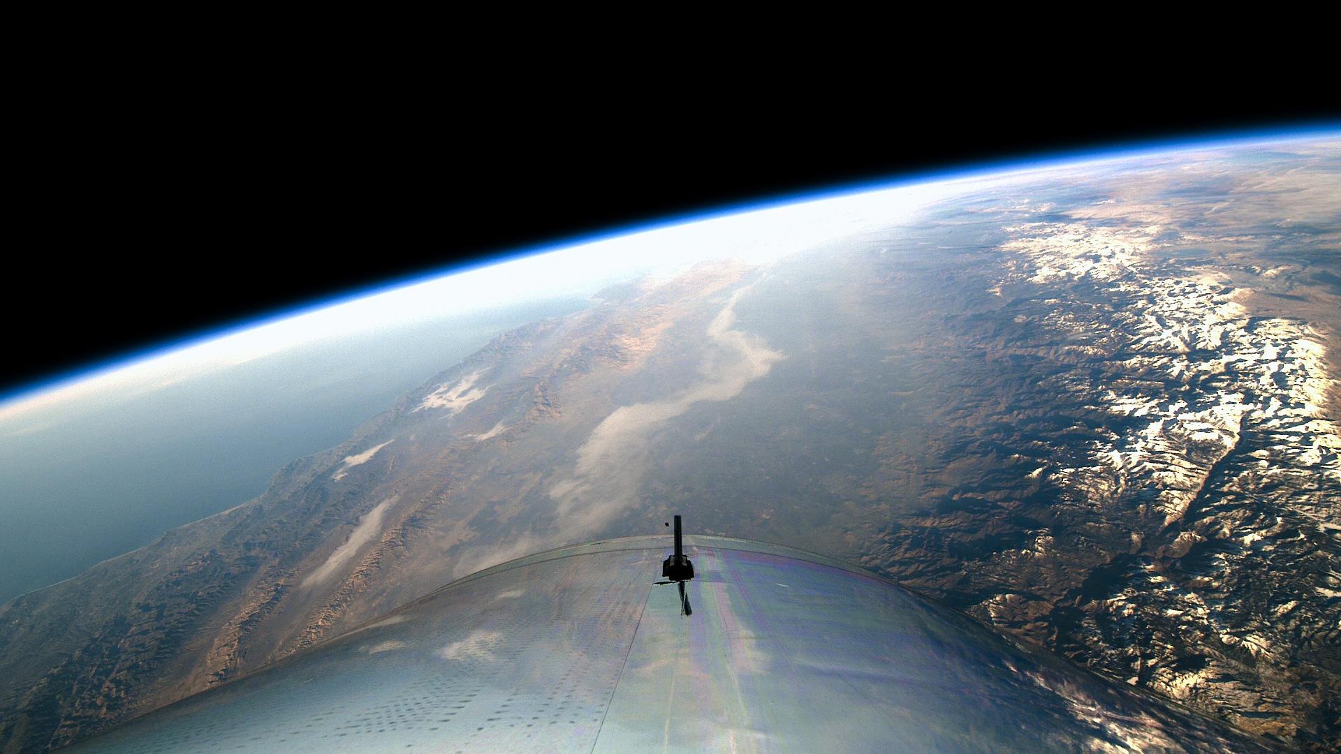 Virgin Galactic in Space 1